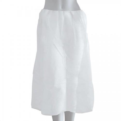 Εξεταστική φούστα non woven λευκή